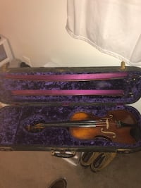 Antique Violin Crafted 1906 Manassas, 20112