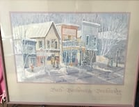 two white wooden framed painting of house Metairie, 70001