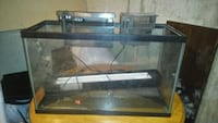 30 gallon fish tank with 2 pumps and filter Calgary, T2W 5E4