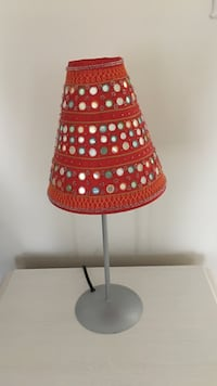 Small red table lamp San Diego, 92129