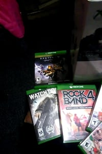 X-box/Games/Surr. Sou./Glass tv Stand **BUNDLE** Catasauqua