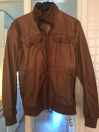 Man Leather Jacket Size s Norrköping, 603 54