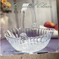 Clear glass bowl with box Woodbridge, 22192