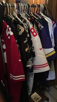Lots of jerseys check my page for sizes Calgary, T2Y