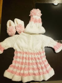 baby's white and pink dress Edmonton, T5Z 3N1