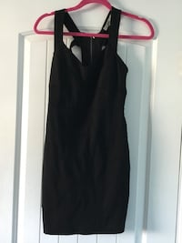 Club Black mini dress open back Size Small Norwalk, 90650