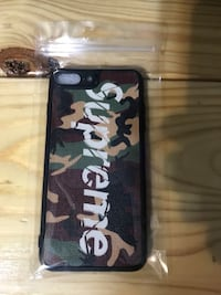 New iPhone 7/8 plus SUPREME phone case  Edinburg, 78542