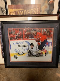 Washington Capitals - Erskine signed picture  Baltimore, 21230