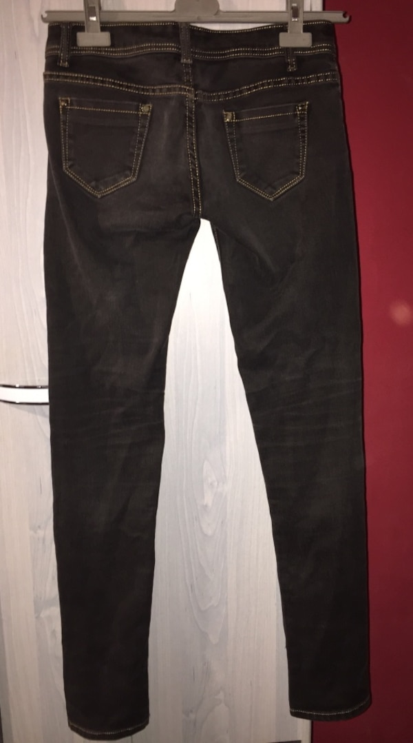 jean en denim True Religion noir
