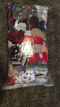 0 to 6 months baby boy clothes in excellent condition from a smoke free home Moose Jaw, S6K