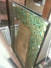 Mirror with glass frame St. Louis, 63147
