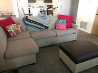 Couch with ottoman Murray, 84107