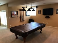 Ulhausen 8' Pool Table PURCELLVILLE