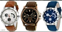 Stylish Men's Watch Combo ( Pack Of 3 ) COD AVAILA Delhi