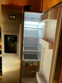 white side-by-side refrigerator Patterson, 95363