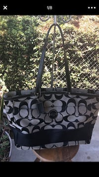 Coach diaper bag, great as a large tote purse Downey