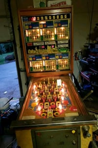 6 card bingo pinball machine Dallas, 18612