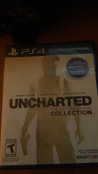 Sony PS4 Uncharted 4 game case Cheney, 94546