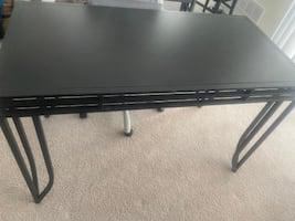 office computer iron table