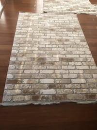white and gray area rug WASHINGTON