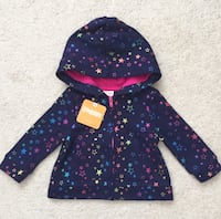 Baby girl hoodie size 6-12m- brand new with tags Mississauga, L5M 0C5