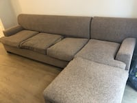 Gray Sectional (8ft long) $0  Washington, 20009