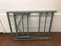 New twin foldable metal bed frame