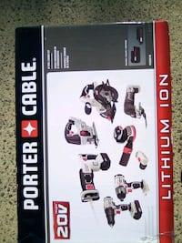 8 piece power tool set brand new still in the box