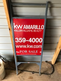 Keller Williams signs Amarillo, 79121