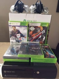 Xbox 360 game case lot