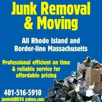 Junk removal Woonsocket, 02895