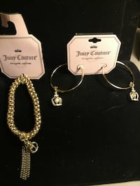 Juicy Couture Bracelet and Earrings