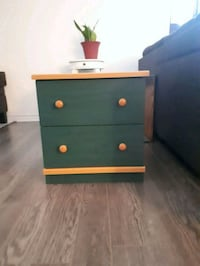 brown and black wooden 2-drawer chest Gatineau, J8R 1A2