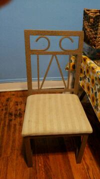 6 chairs 5 each, with glass table sold separately  Chicago, 60630