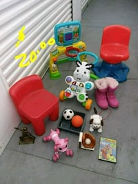 toddler's assorted plastic toys St. Peters, 63376