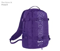 purple and black Adidas backpack Arlington, 22204