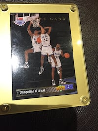 Shaquille O'Neal Rookie Card 1993-94 New Tecumseth, L9R