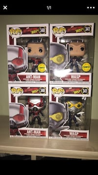 Ant-man And The Wasp 4pk Funko Pop Phoenix, 85042