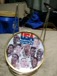 USA Olympic basketball team collector plate Bedford, 24523