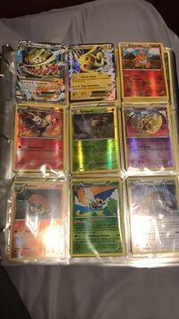 Pokémon Cards- These Pokémon Cards are shiny in good condition and have Ex and Mega Ex included. South Chesterfield, 23834