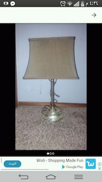 brown and white table lamp Regina, S4R 4M2