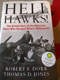 Hell Hawks : signed copy Silver Spring, 20910
