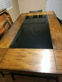 brown and black wooden coffee table Auburn, 95603