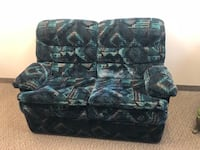 black and gray floral fabric sofa 3133 km