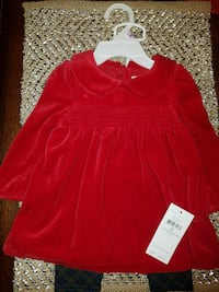NEW-Ralph Lauren Girls 9Month  Carlsbad, 88220