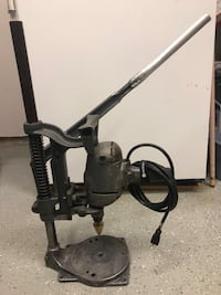 Old school Black & Decker drill press..Works great Herndon, 20170