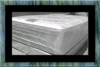 "Full 16"" double pillow top mattress with boxspring Washington, 20002"