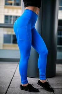 Compression active leggings