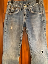 True Religion Jeans Women's RN#112790 CA#30427 Boot Cut Size 30 452 mi