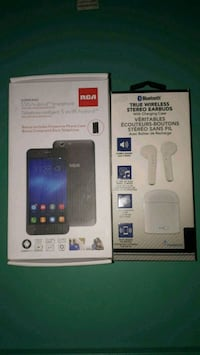 *NEW* Dual Sim RCA smart phone + Bluetooth headphones
